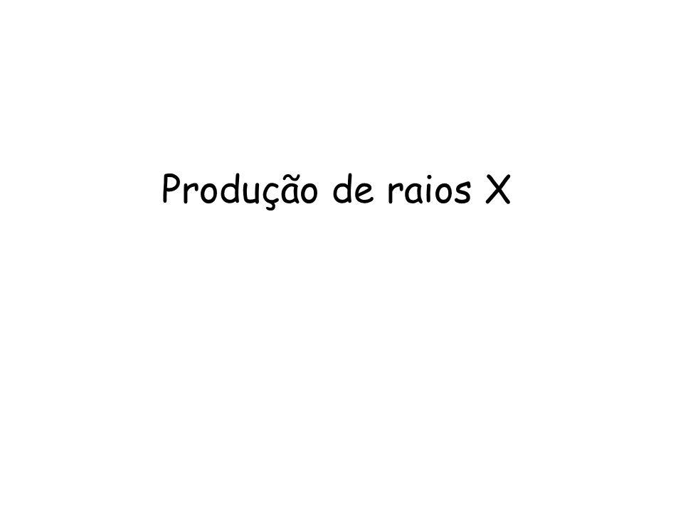 Produção de raios X