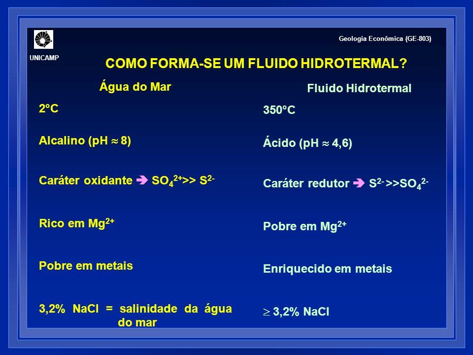 COMO FORMA-SE UM FLUIDO HIDROTERMAL.1.