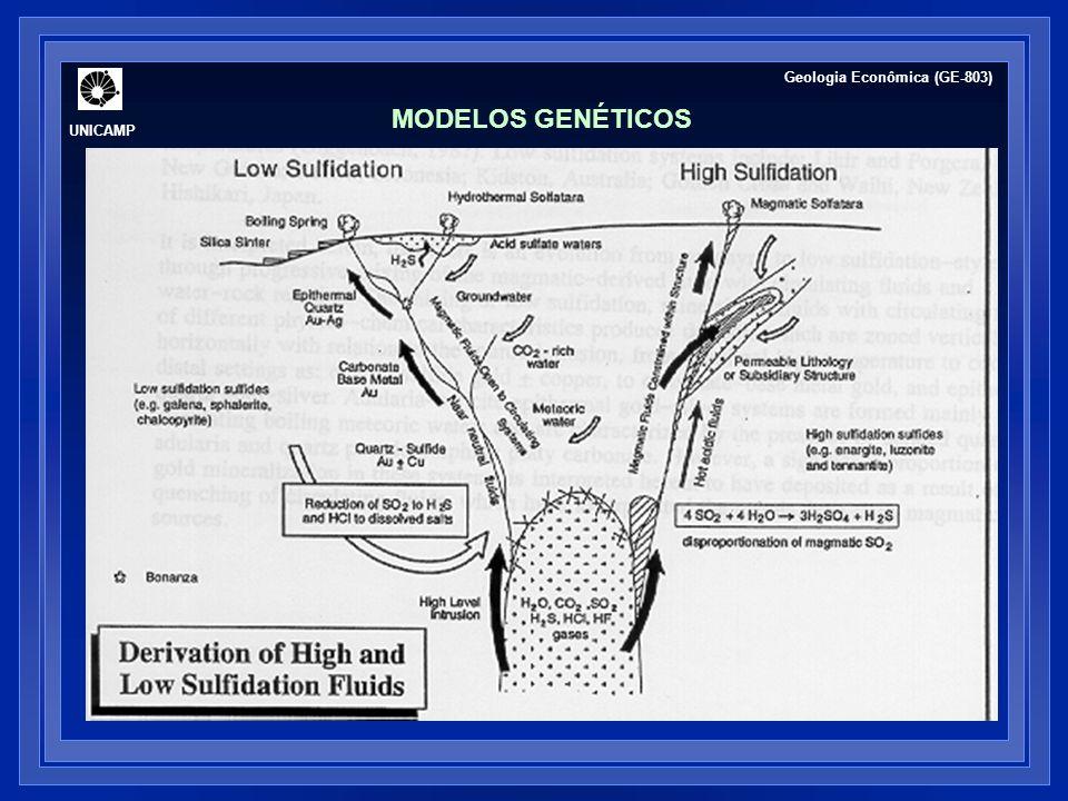 MODELOS GENÉTICOS UNICAMP Geologia Econômica (GE-803)