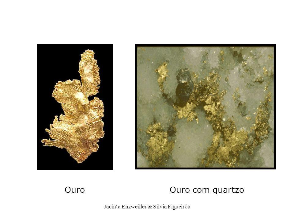 Ouro Ouro com quartzo