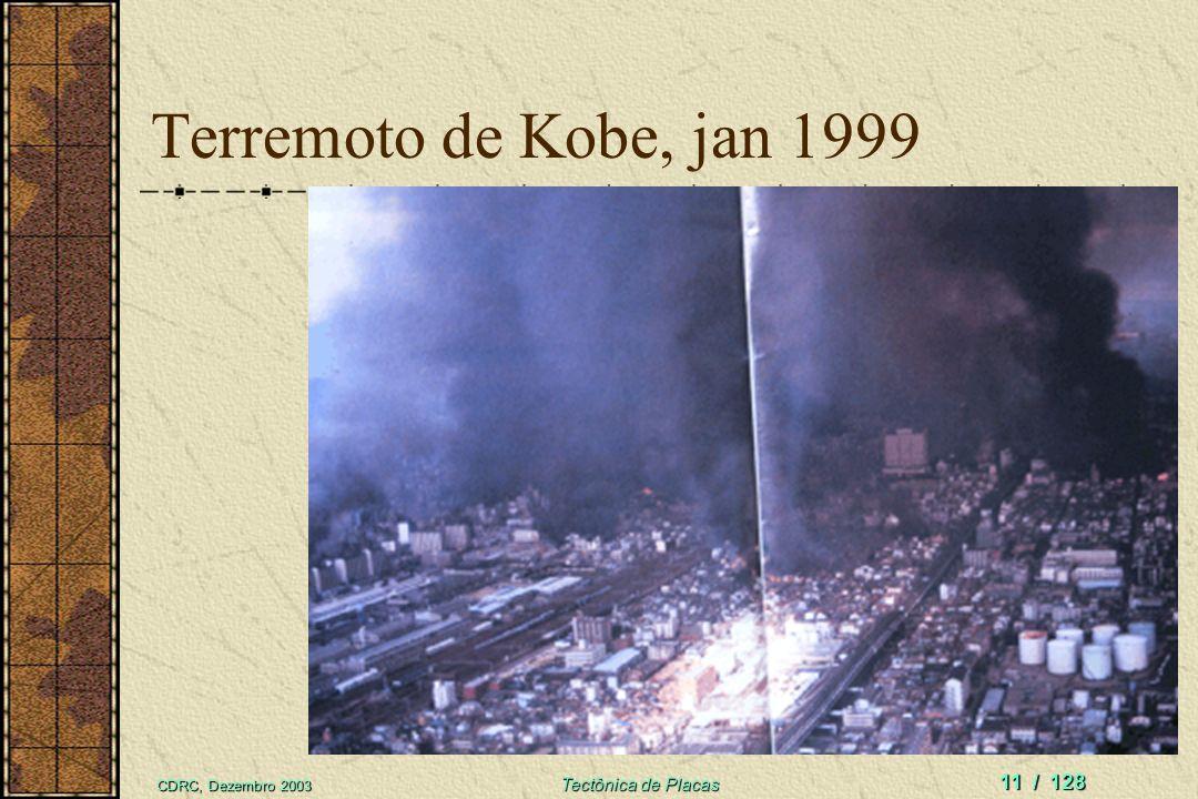 CDRC, Dezembro 2003 Tectônica de Placas 10 / 128 Arcos de Ilhas e zonas de subducção