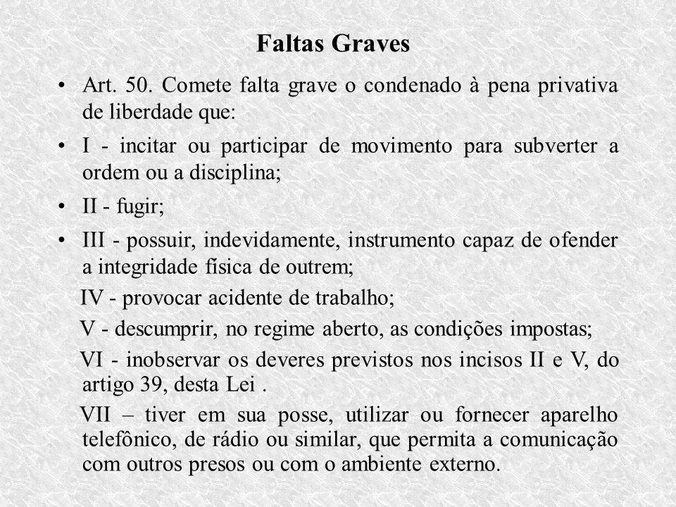 Faltas Graves Art.50.