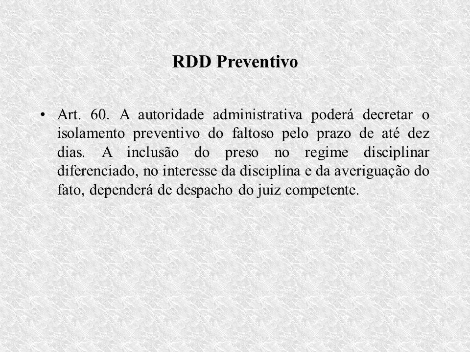 RDD Preventivo Art.60.