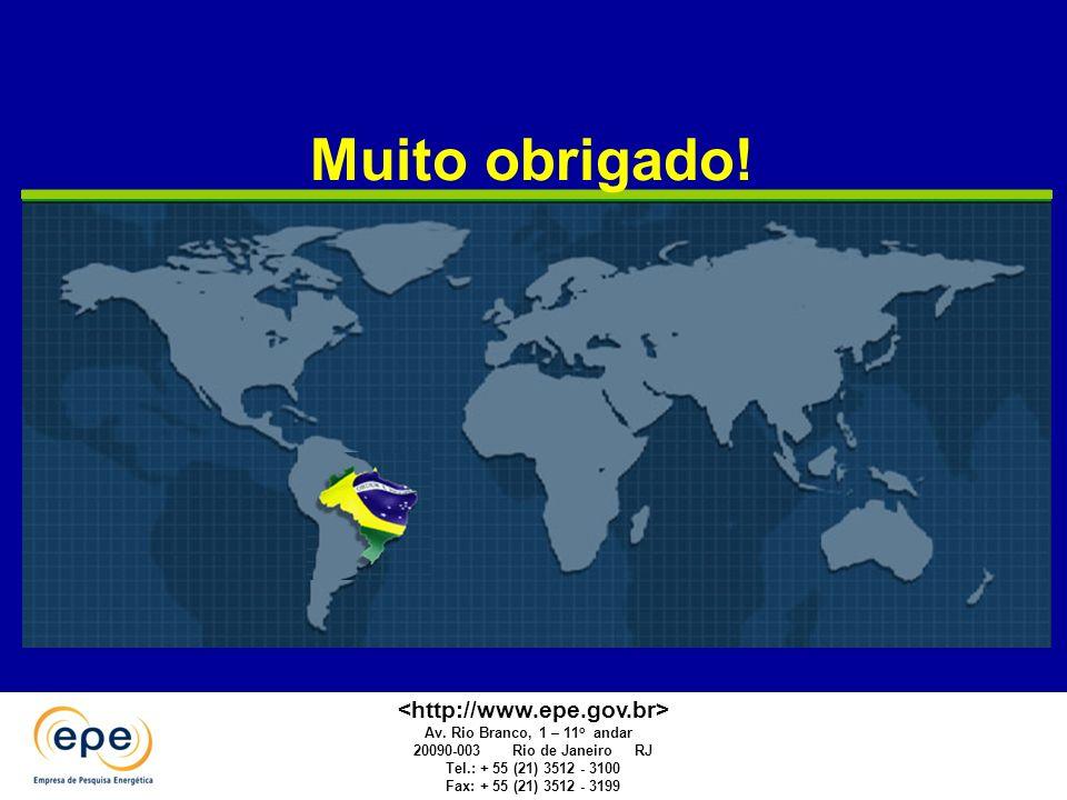 Apresentação de A. Guerreiro. EPE. Campo Grande 2010 Muito obrigado! Av. Rio Branco, 1 – 11 o andar 20090-003 Rio de Janeiro RJ Tel.: + 55 (21) 3512 -