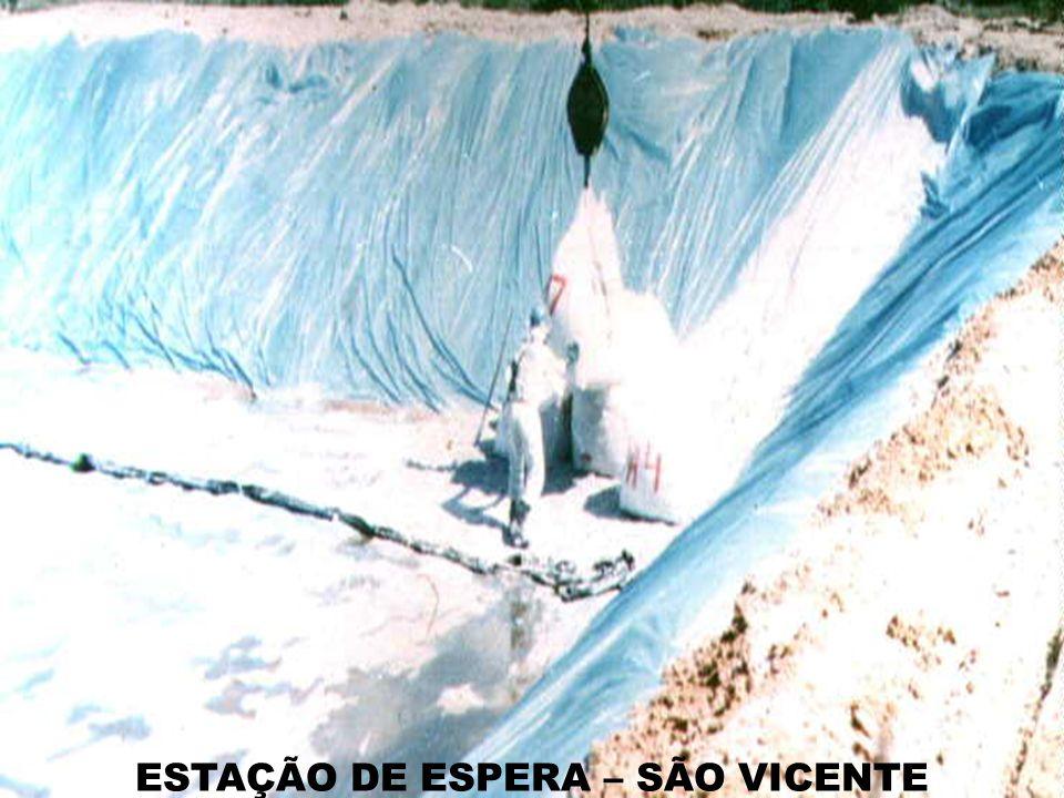 ESTAÇÃO DE ESPERA – SÃO VICENTE