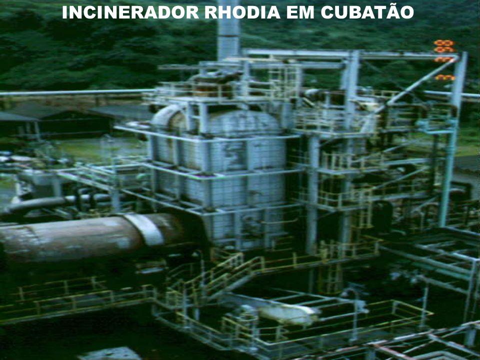 INCINERADOR RHODIA EM CUBATÃO