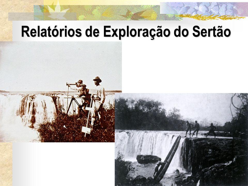 20 Relatórios de Exploração do Sertão