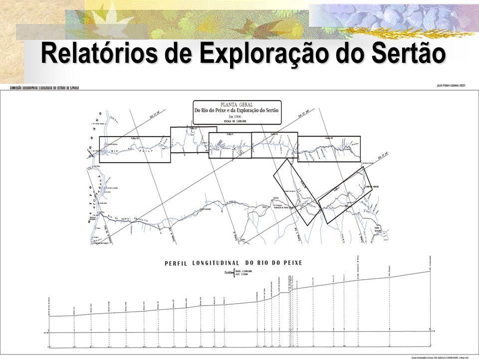 21 Relatórios de Exploração do Sertão