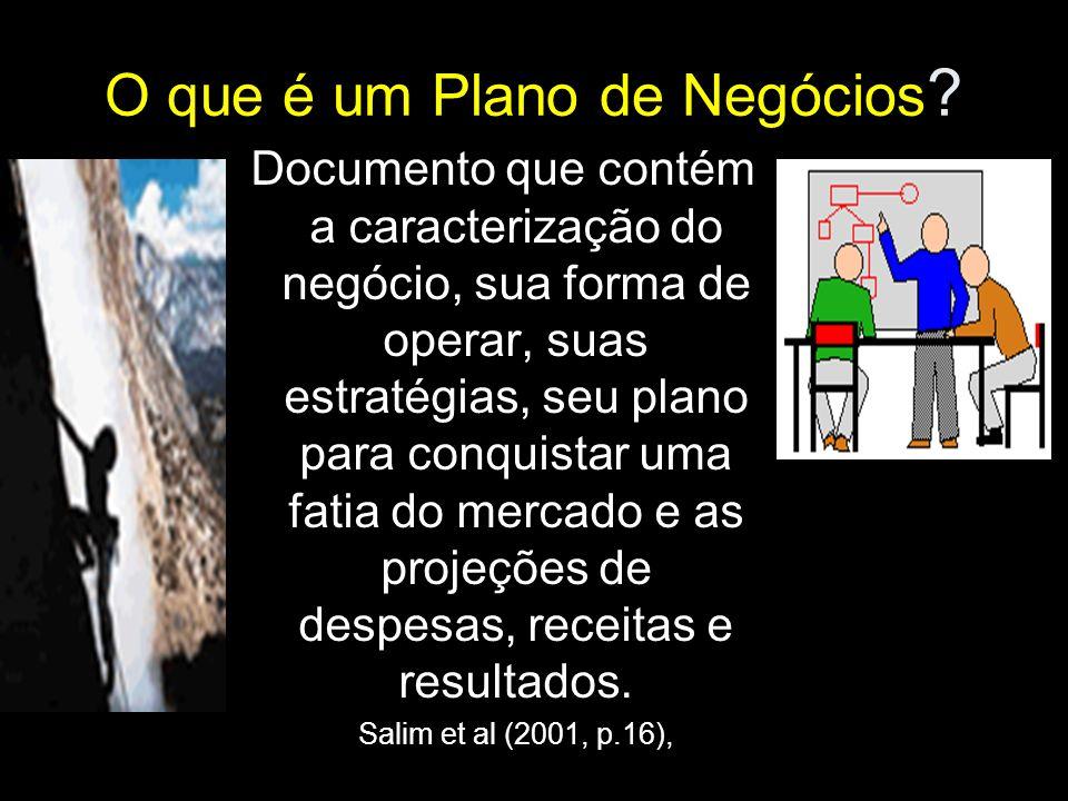 Histórico e importância do plano de negócios Como surgiu o Plano de Negócios.