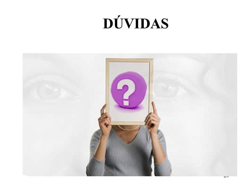 20 DÚVIDAS