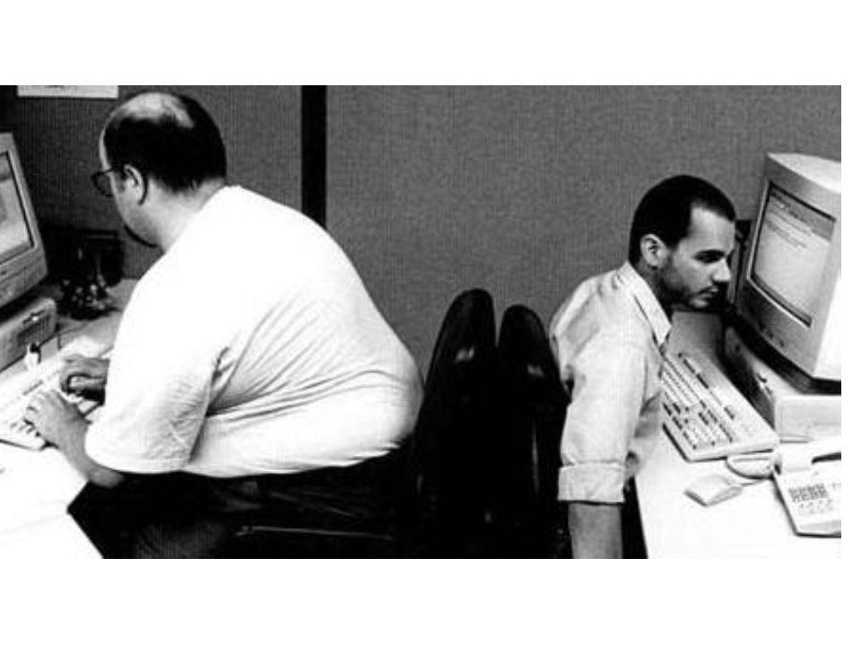 Móveis e equipamentos com tamanho uniforme e mesma marca permitem: Maior flexibilidade de remanejamento Melhor aparência estética Reduzir o custo de compra e manutenção Localização de equipamentos pesados Observar a capacidade de carga Instalação de equipamentos de segurança Combate a incêndio Evitar cobrir superfícies de trabalho (tampo de mesa) com material reflexivo