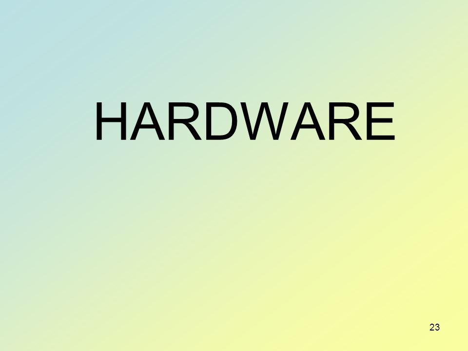 23 HARDWARE