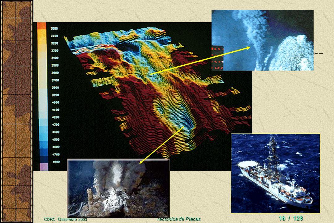 CDRC, Dezembro 2003 Tectônica de Placas 15 / 128