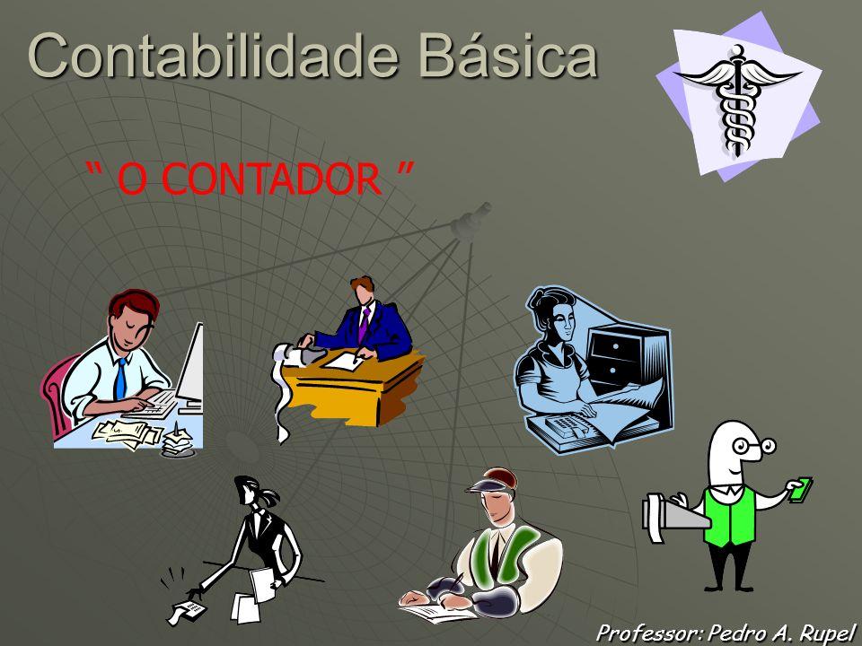 Contabilidade Básica Professor: Pedro A. Rupel A EVOLUÇÃO