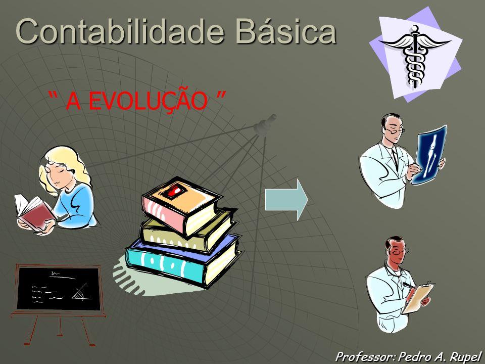 Contabilidade Básica Professor: Pedro A. Rupel O CONTADOR MÉDICO