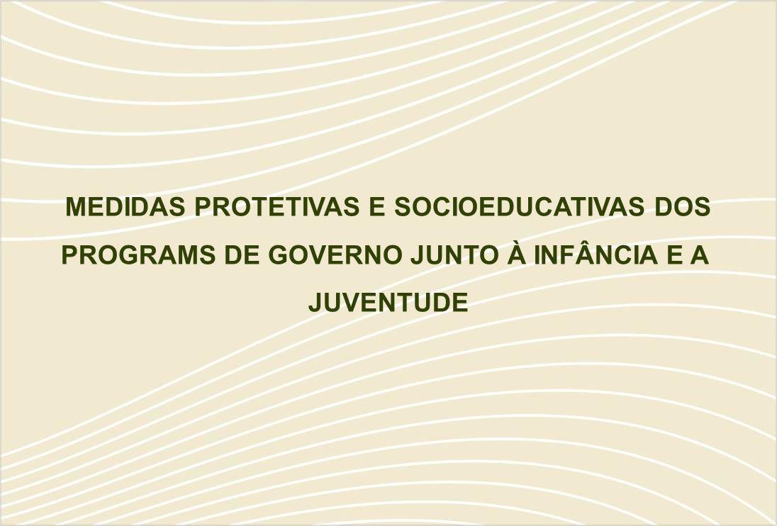 MEDIDAS PROTETIVAS E SOCIOEDUCATIVAS DOS PROGRAMS DE GOVERNO JUNTO À INFÂNCIA E A JUVENTUDE
