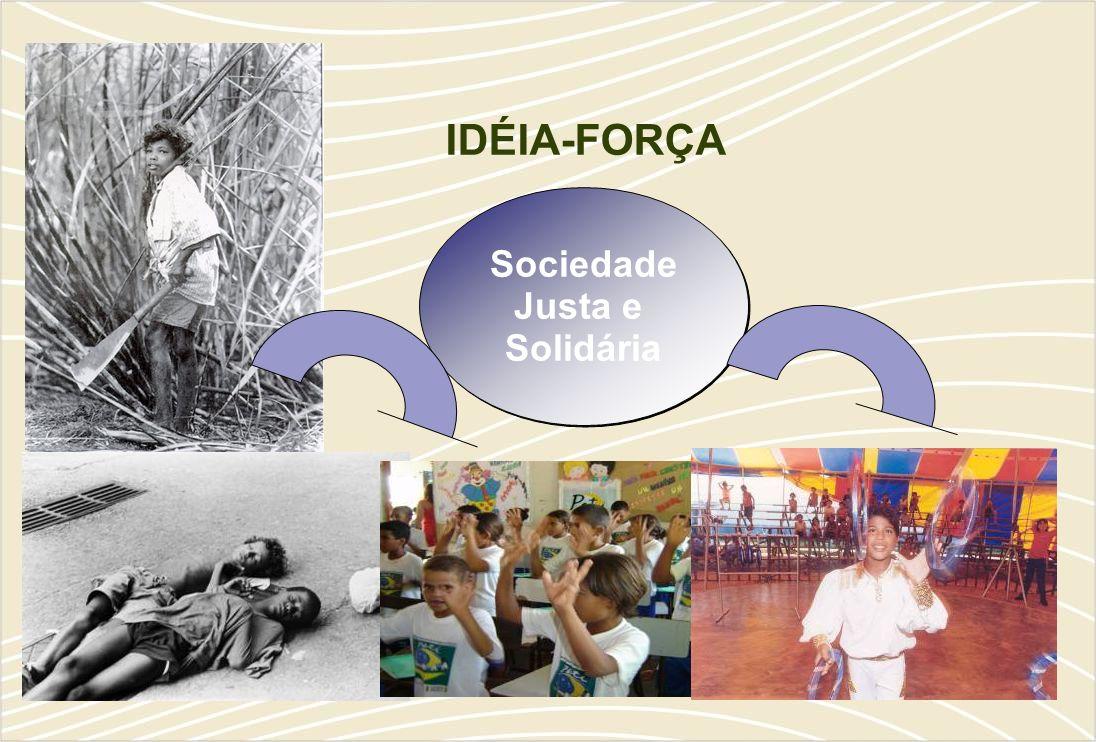 Sociedade Justa e Solidária Sociedade Justa e Solidária IDÉIA-FORÇA