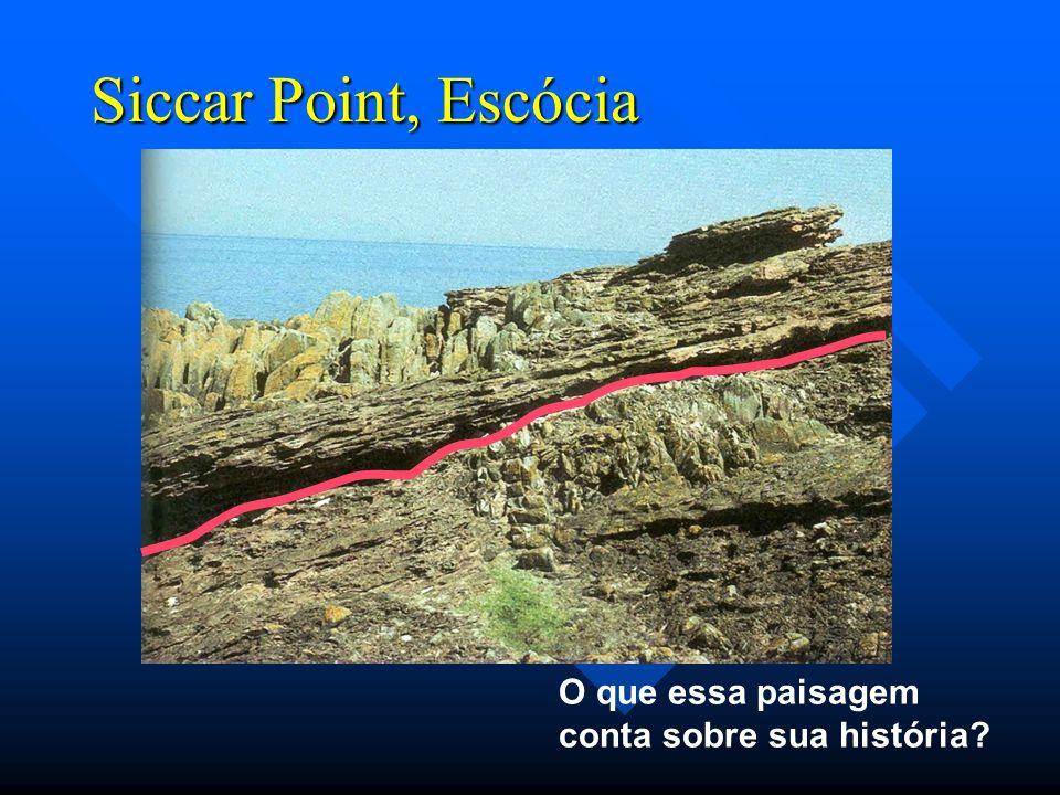 Siccar Point, Escócia O que essa paisagem conta sobre sua história?