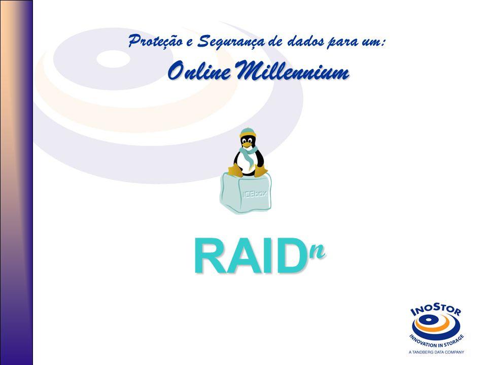 Online Millennium Proteção e Segurança de dados para um: Online Millennium RAID n