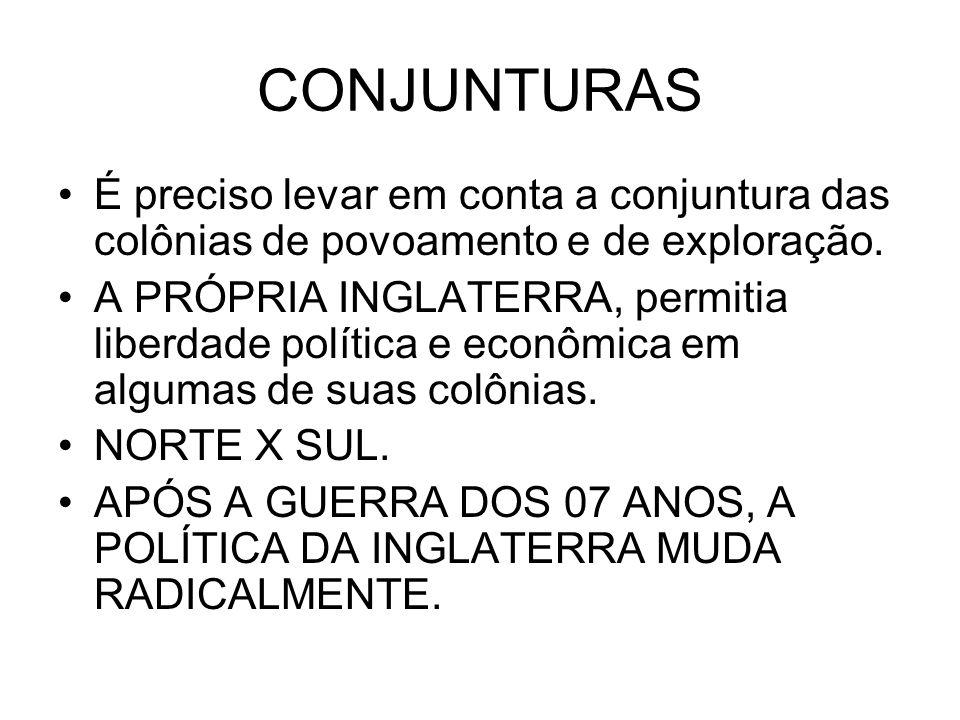 PROCESSO DE INDEPENDÊNCIA DAS COLÔNIAS AMERICANAS AMOR E ÓDIO.