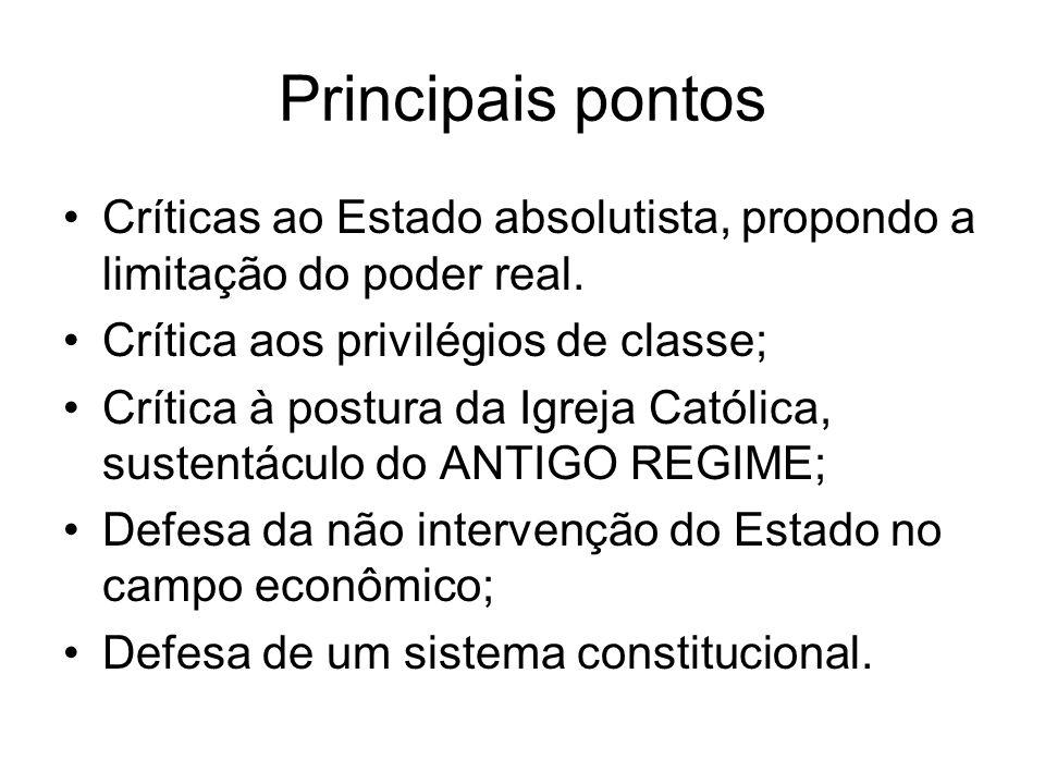 Princípios fundamentais A) existência de leis naturais em economia ( lei da oferta e da procura ).