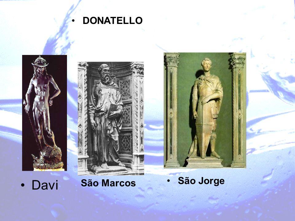 Davi São Marcos São Jorge DONATELLO