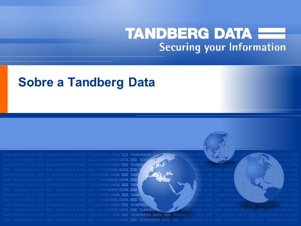 TANDBERG DATA CONFIDENTIAL22 Tandberg StorageLibrary T24 Alta Capacidade, 38.4TB* com apenas 2Us de altura Performance acima 1.7TB/hr* Simples de escalar de 12 a 24 slots Oferece conectividade SCSI, Fibre Channel e SAS Fácil de instalar e gerenciar e manter Acompanha o Symantec Backup Exec QS Utilizado por vários OEMs TypeDriveSlotsCapacity*Transfer rates* T241/2 LTO-2 HH12/244.8/9.6TB172-346GB/hr T24 1/2 LTO-3 HH12/249.6/19.2TB432-864GB/hr T241/2 LTO-4 HH12/2419.2/38.4TB864-1728GB/hr T24 1 LTO-3 FH12/249.6/19.2TB 576GB/hr T241 LTO-4 FH12/2419.2/38.4TB864GB/hr * Compressed, assuming 2:1 data compression