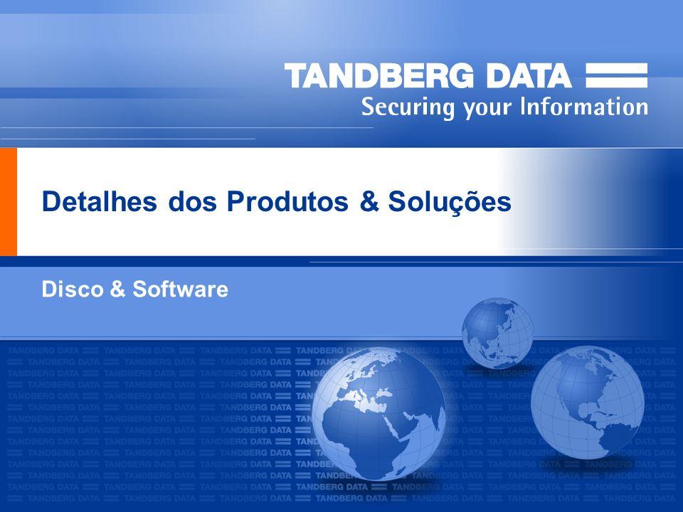 Detalhes dos Produtos & Soluções Disco & Software