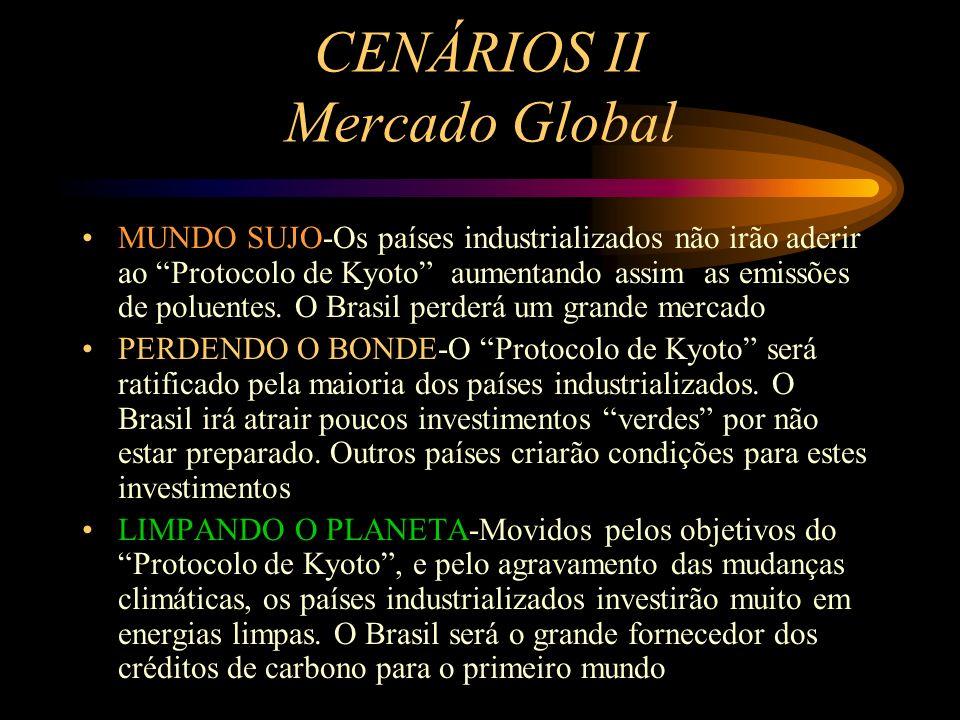 CENÁRIOS I Ações de Governo SUJO E CARO-Cedendo às pressões das multinacionais do petróleo o governo forçará o consumo de GN e outros derivados e tent