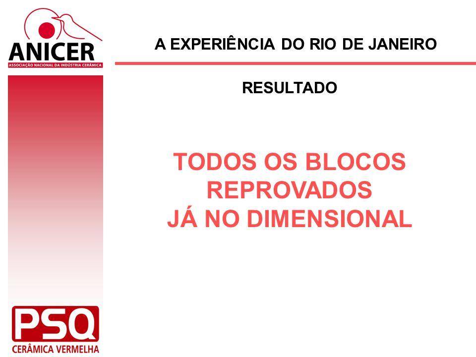 A EXPERIÊNCIA DO RIO DE JANEIRO RESULTADO TODOS OS BLOCOS REPROVADOS JÁ NO DIMENSIONAL