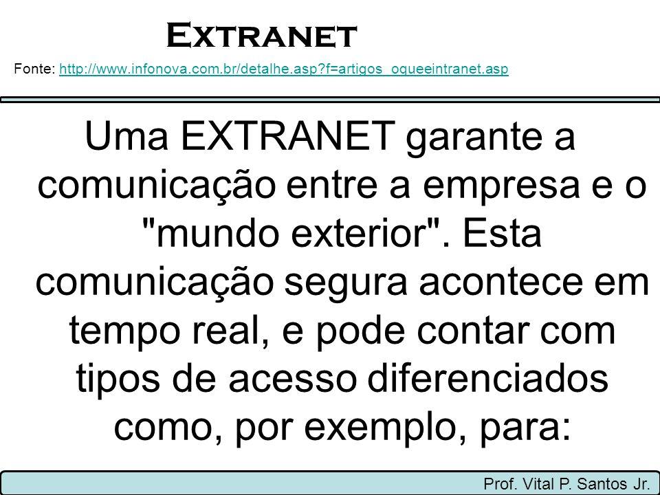 Extranet Prof.Vital P. Santos Jr.