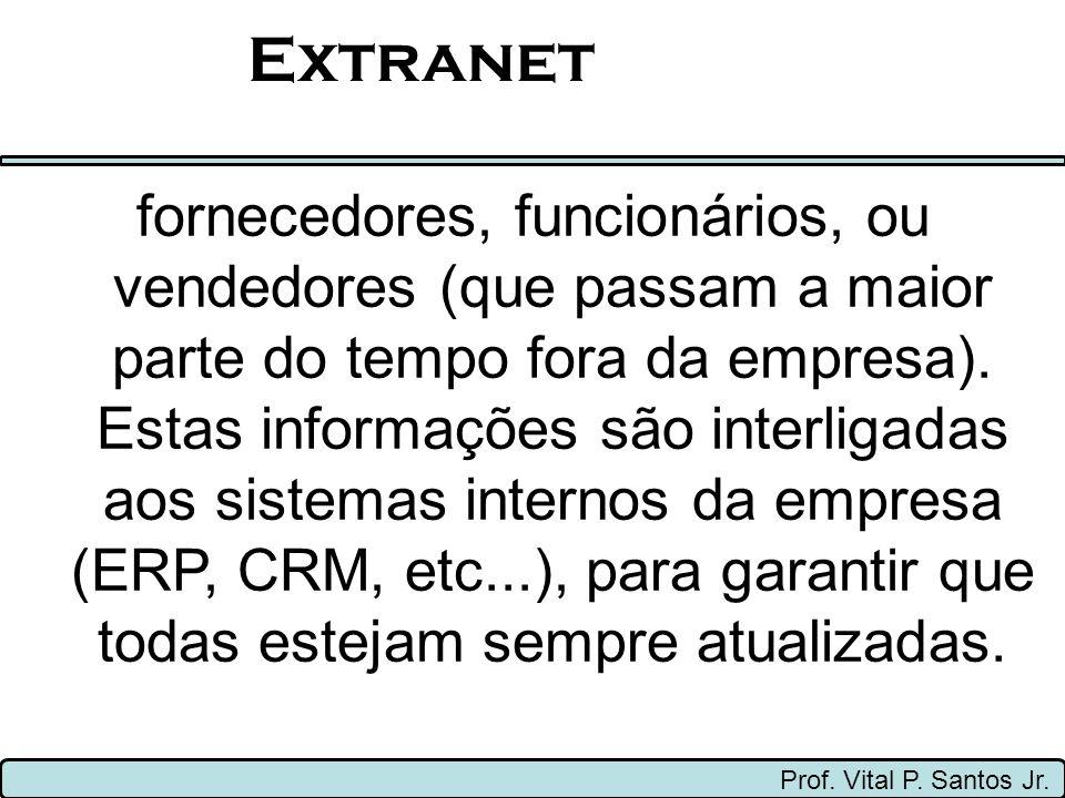 Palavras-Chaves Prof. Vital P. Santos Jr. Ethernet