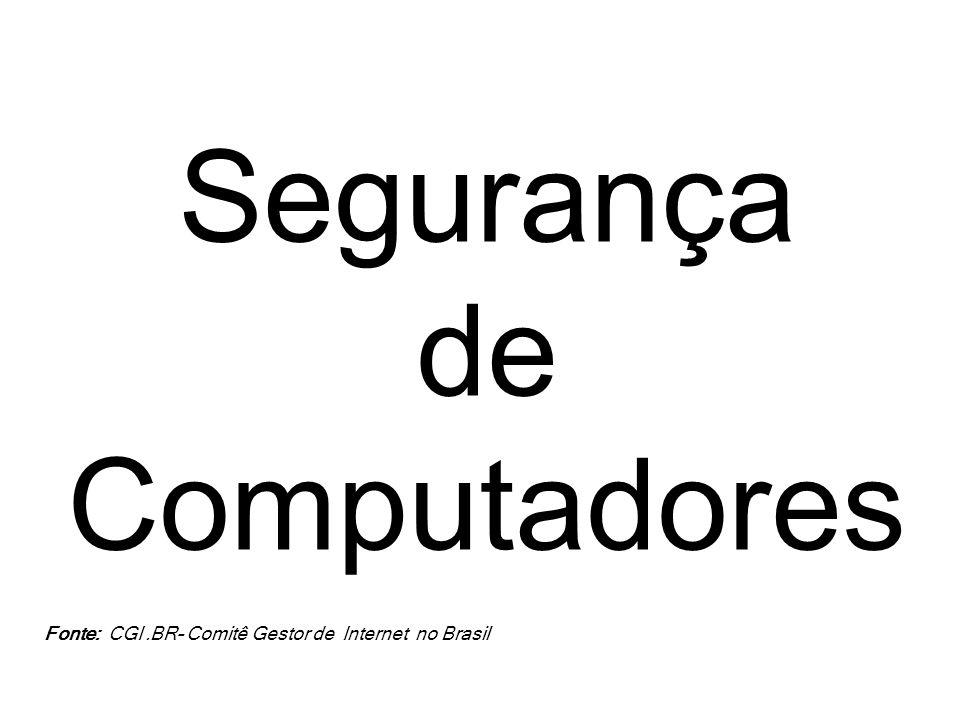 Um computador (ou sistema computacional) é dito seguro se este atende a três requisitos básicos relacionados aos recursos que o compõem: Confidencialidade Integridade Disponibilidade