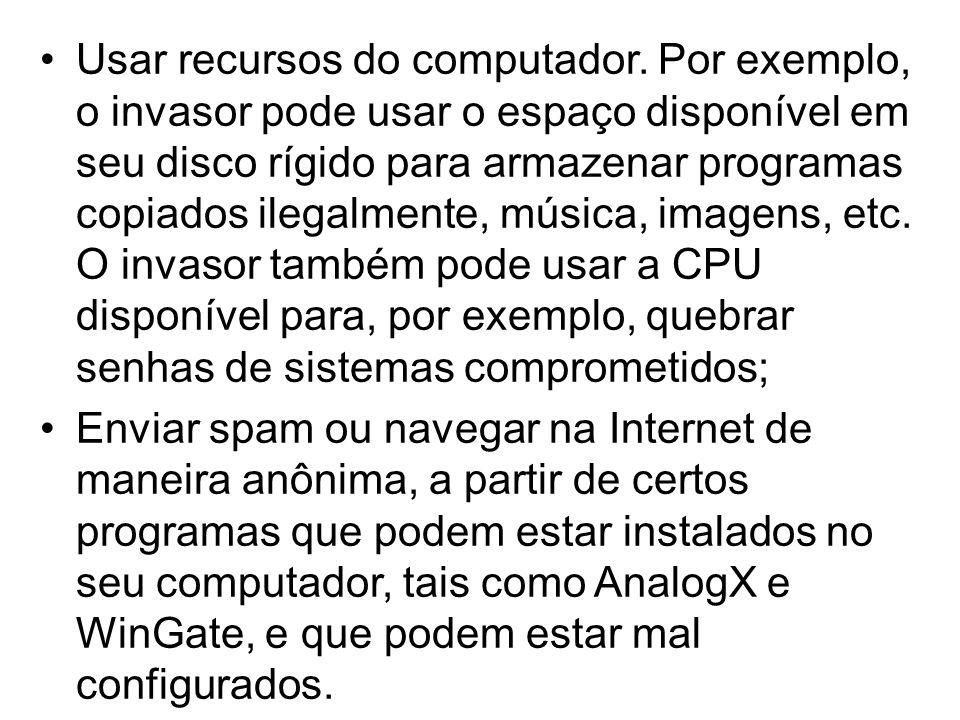 O que fazer para proteger um computador conectado por banda larga?