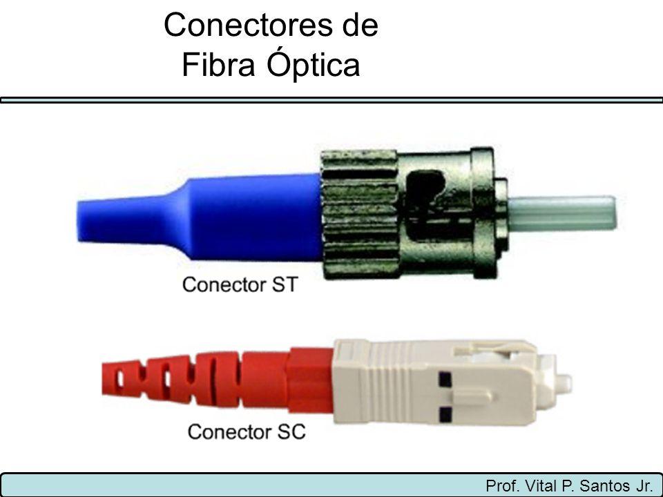 Prof. Vital P. Santos Jr. Conectores de Fibra Óptica