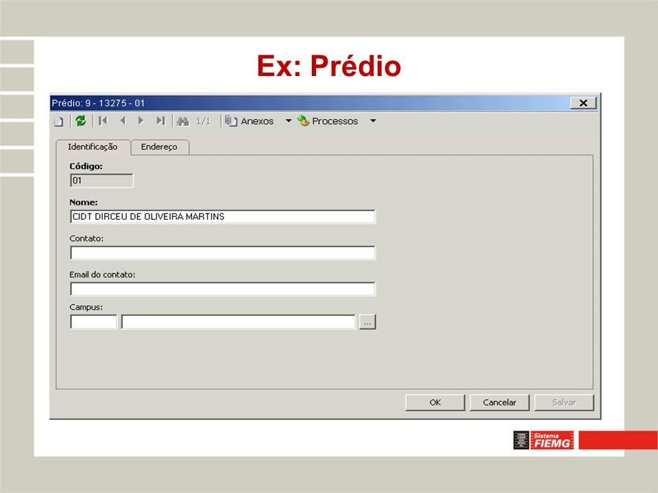 Ex: Prédio
