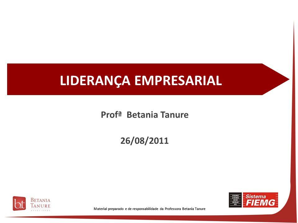 Material preparado e de responsabilidade da Professora Betania Tanure Nosso modelo de análise Betania Tanure Priscila Soares