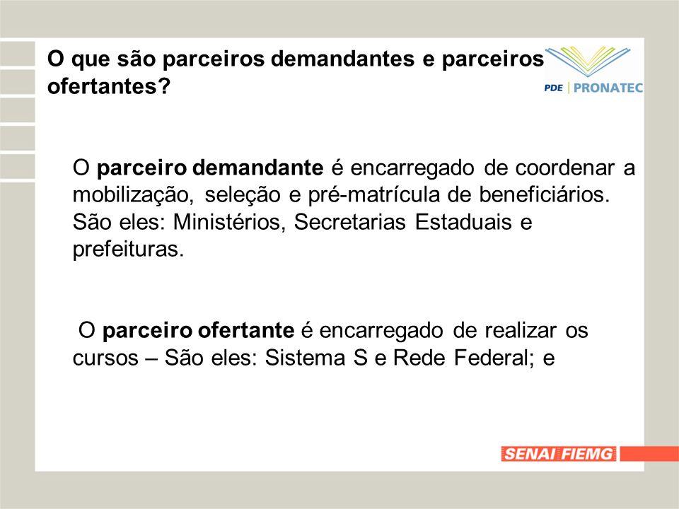O aluno que participar do PRONATEC perderá o direito aos Benefícios dos Programas Federais de Transferência de Renda.