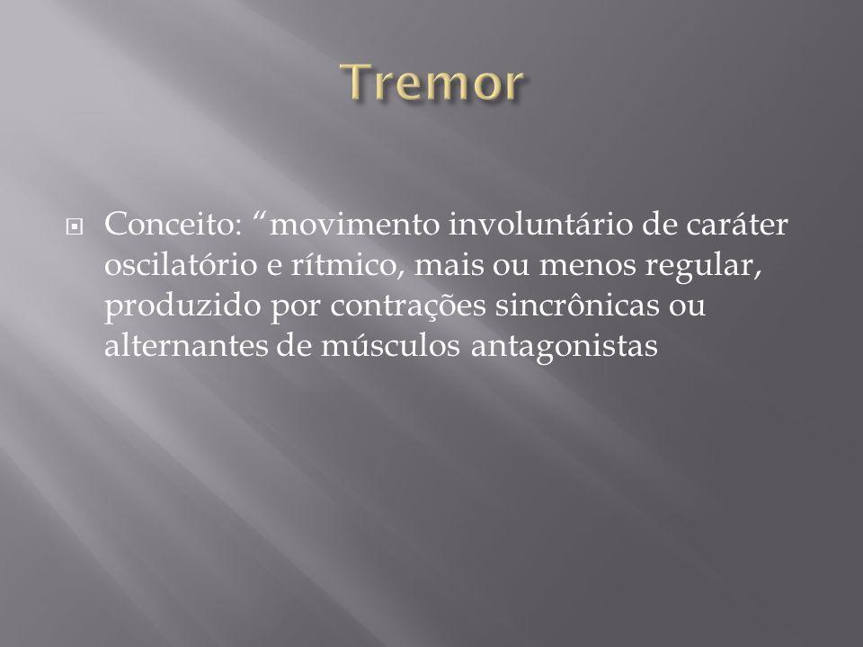 Tremor essencial: atividade de músculos sincrônicos