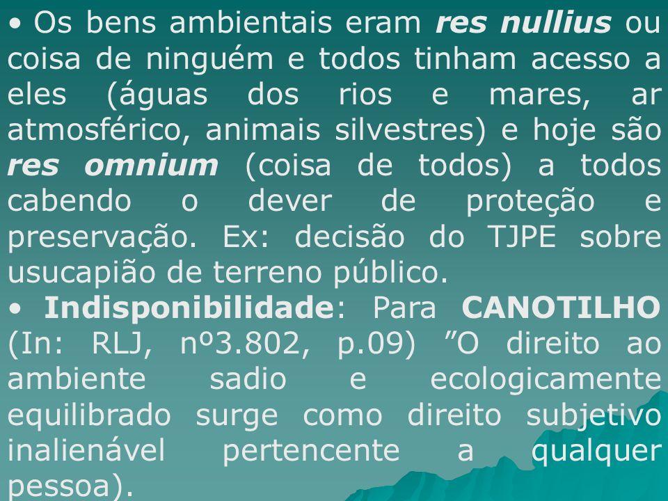INSTRUMENTOS DA PNMA - INSTRUMENTOS DA PNMA - Lei nº 6.938/81 (PNMA) Zoneamento ambiental (conflitos urbanos e rurais) Licenciamento ambiental (improbidade administrativa ambiental) Padrões ambientais (CONAMA,etc) Avaliação de impacto ambiental (EIA/RIMA) Unidades de conservação Produção e circulação de informações ambientais (ex.