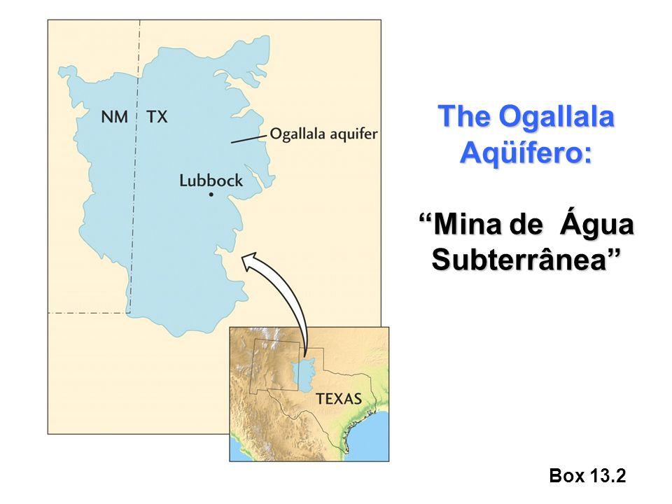 Box 13.2 The Ogallala Aqüífero: Mina de Água Subterrânea
