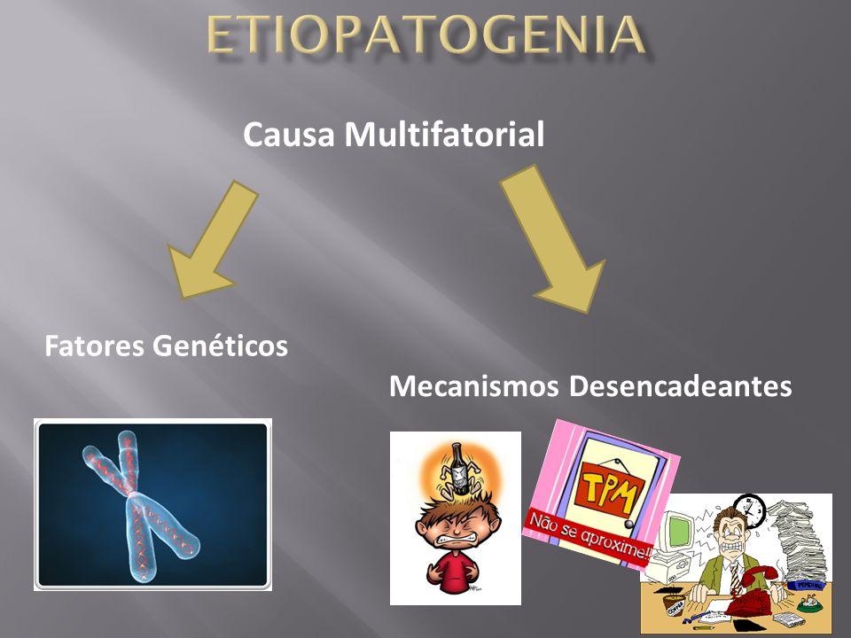 Causa Multifatorial Fatores Genéticos Mecanismos Desencadeantes