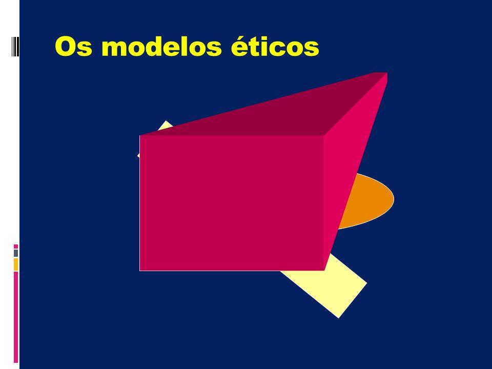 Os modelos éticos