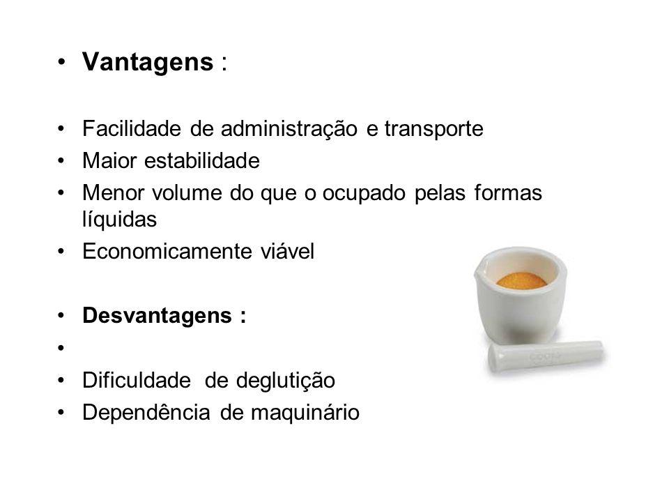 COMPRIMIDOS ESPECIAIS Outros tipos de comprimidos: 1.Comprimidos para uso externo Dissolução: antissépticos / adstringentes etc..