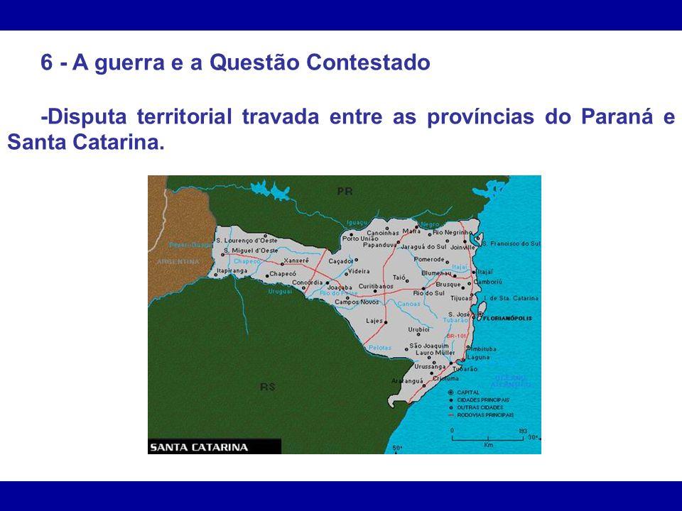 -Já em 1855, o Paraná afirmava que seu território se estendia por todo o planalto meridional.