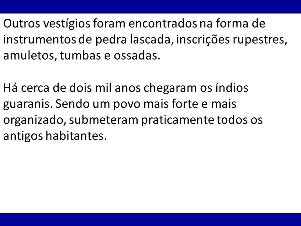 Em 1750, portugueses e espanhóis assinaram um novo acordo - o Tratado de Madrid.