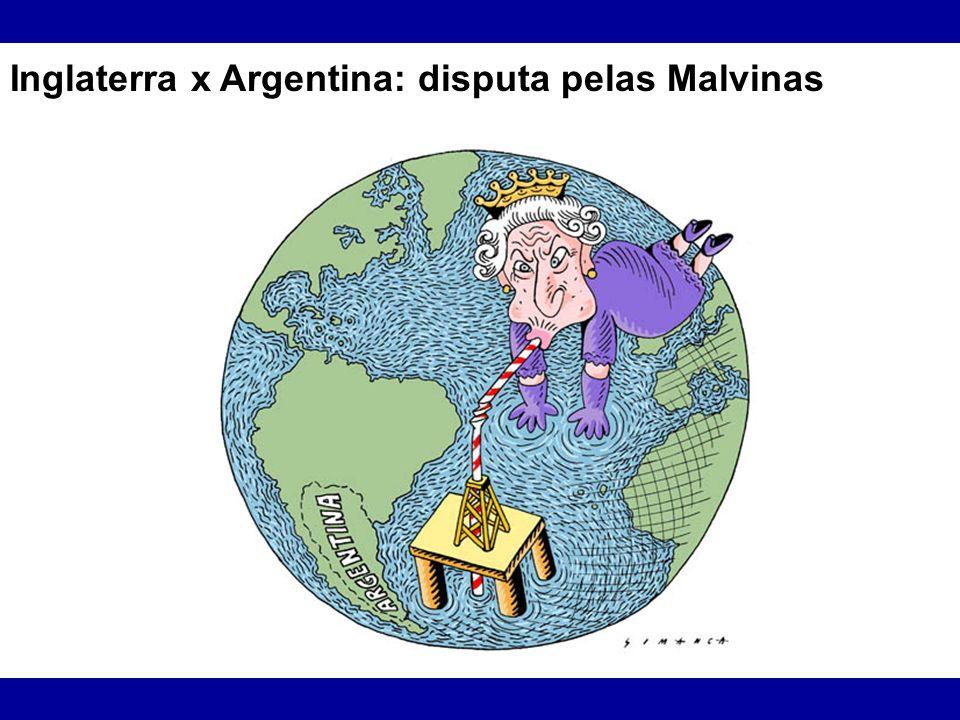 Inglaterra x Argentina: disputa pelas Malvinas