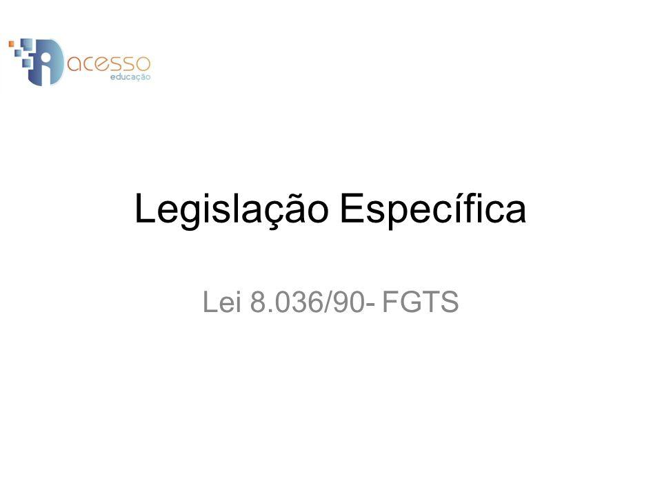 O depósito dos valores do FGTS será realizado na ordem de oito por cento da remuneração do empregado, salvo menor aprendiz, que será de dois por cento.