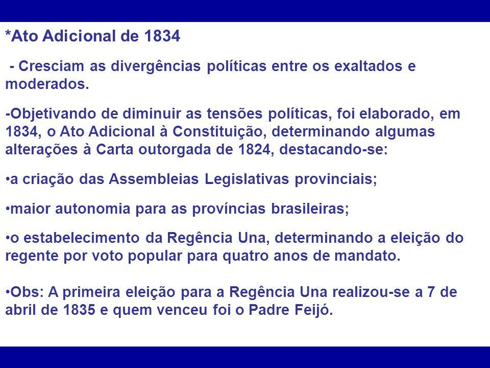 A regência, pressionada, resolveu então substituir o presidente da província e nomeou para o cargo o coronel Luís Alves de Lima e Silva.
