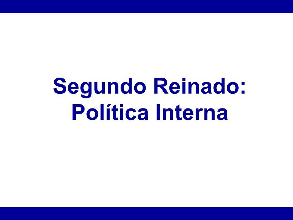 Política interna *Golpe da Maioridade *Elite agrária brasileira assume o aparelho de Estado.